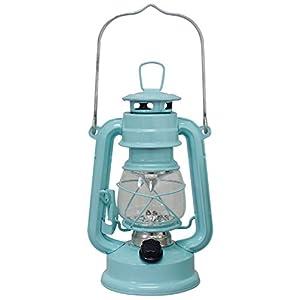 ウォームウール 暖かみのある光で おしゃれな LED ランタン ミントブルー 400691907