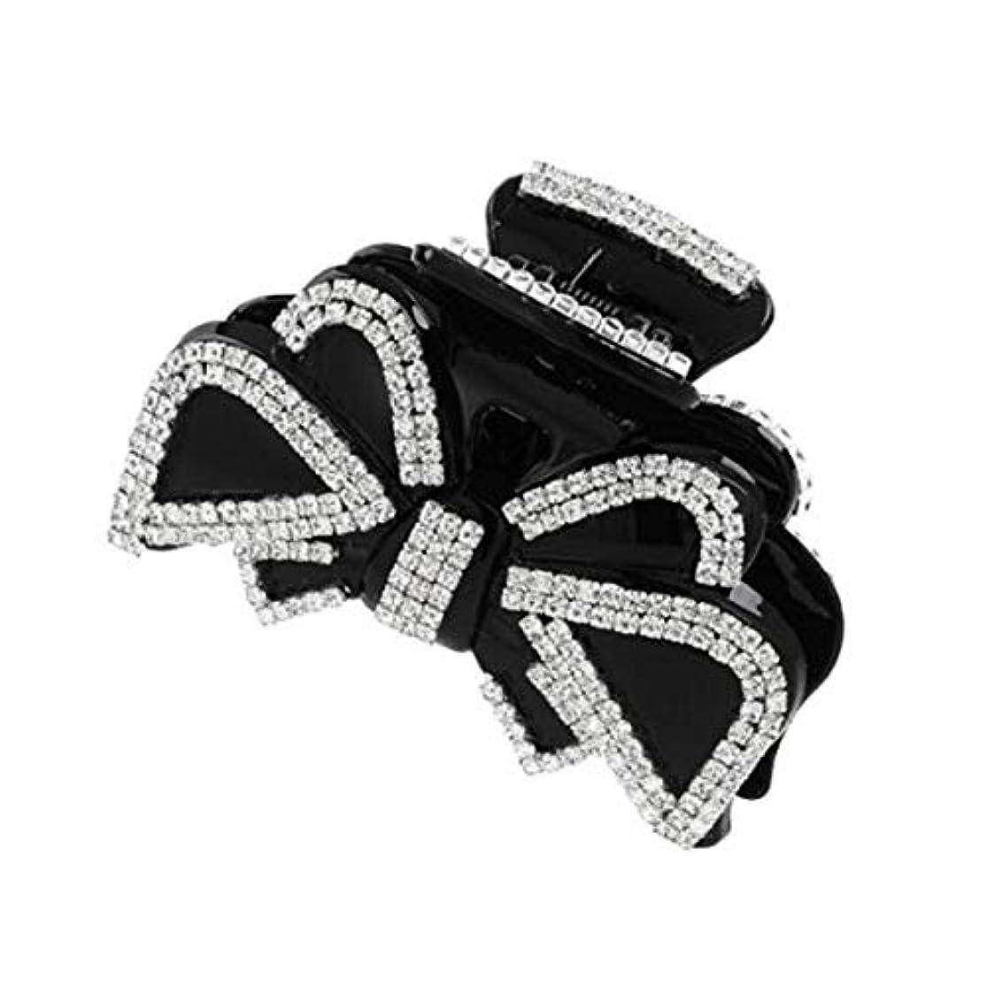 リップ反応するクラシカルヘアクリップ、ヘアピン、ヘアグリップ、ヘアグリップ、ヘッドウェアボウヘアクリップラージグリップクリップヘアクリップヘアクリップヘアピンヘアピン大人用帽子 (Color : White, Size : 8.8*4.5cm)