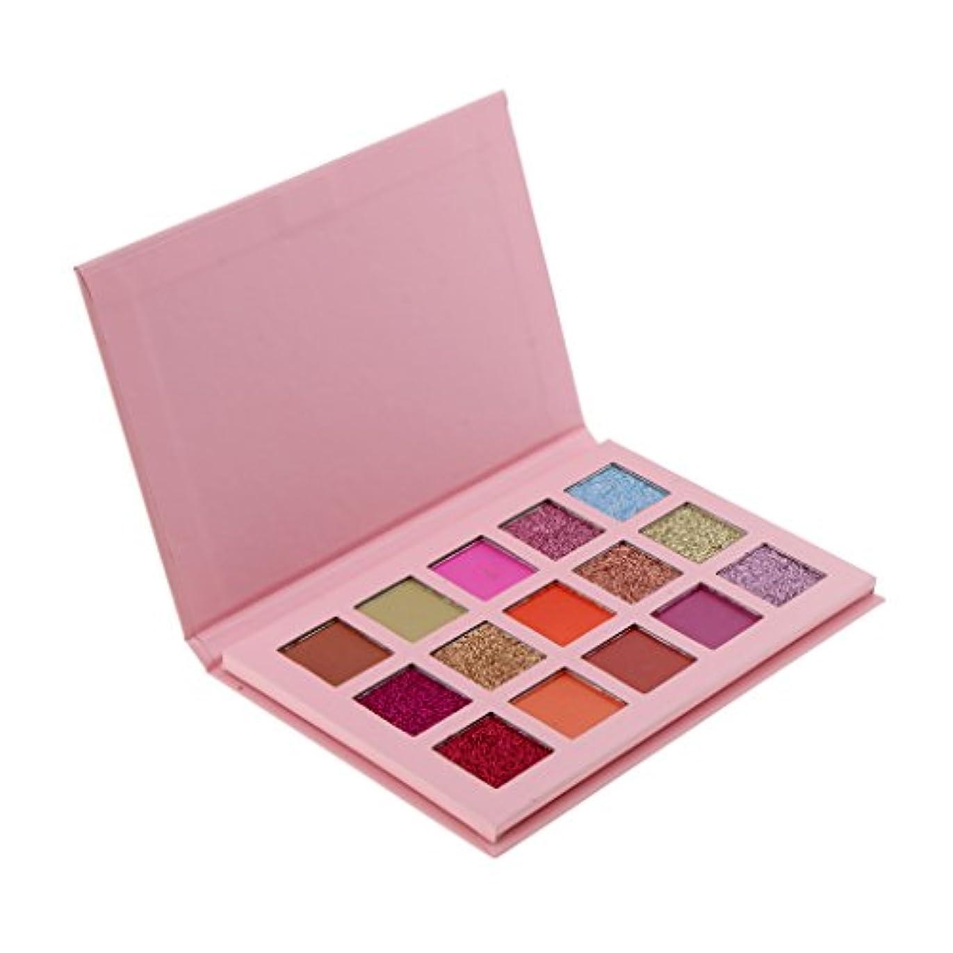 発行利益治安判事アイシャドーパレット 15色 メイクアップパレット カラーメイク アイメイク 長持ち 高品質