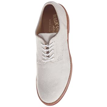 Derby Classic Oxford: White Suede 32078