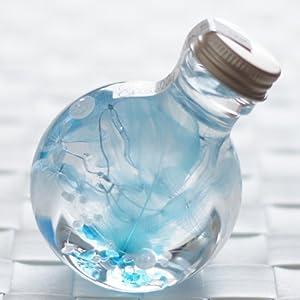 ハーバリウム 丸ボトル (クリアブルー)の関連商品2
