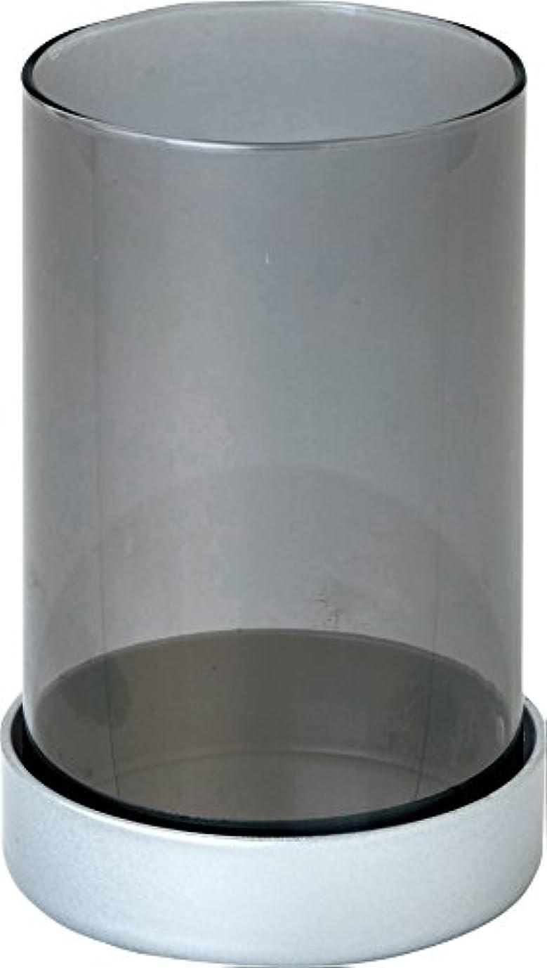 トピック背景赤面カメヤマキャンドルハウス シャインキャンドルランプ シルバーグレー