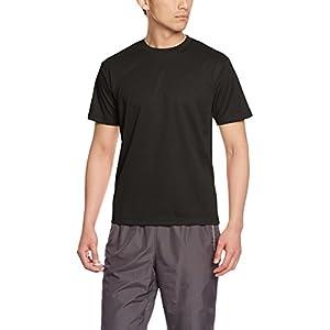 [グリマー] 半袖 メンズ 4.4oz ドライTシャツ (クルーネック) 00300-ACT ブラック 5L (日本サイズ5L相当)