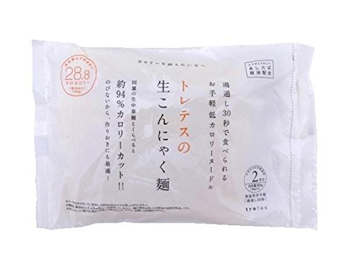 tretes(トレテス) 生こんにゃく麺 (180g×2食入り)×12袋