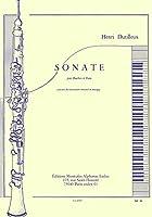デュティユー : ソナタ (オーボエ、ピアノ) ルデュック出版