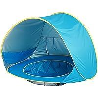 プリンセスCastle Play Tent for子Bestクリスマス誕生日ギフト、赤ちゃんを楽しみ、この折りたたみ式Play Playhouse / Ball Pit Toy forインドア&アウトドア使用 ブルー