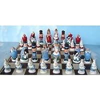 【並行輸入品】Alice in Wonderland 不思議の国のアリス Chess Set