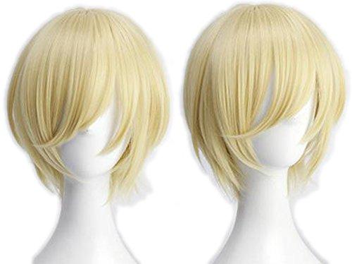 (コスヤヤ) cosyaya Fine 天祥院英智(てんしょういんえいち)コスプレ ウィッグ 耐熱 cos wig +おまけ
