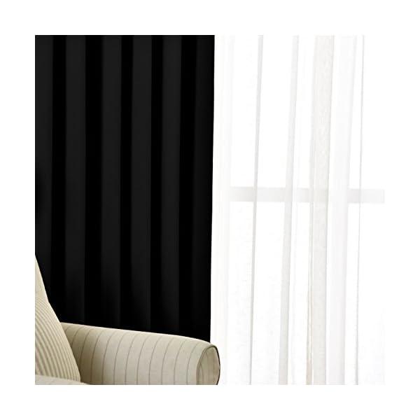 NICETOWN 遮光カーテン 2枚セット ブ...の紹介画像4