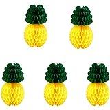 (ライチ) Lychee 5個入 ペーパーフラワー ハニカムボール 大人気 パイナップル 果物 ペーパー飾り付け 可愛い 誕生日 結婚式 ウェディング インテリア