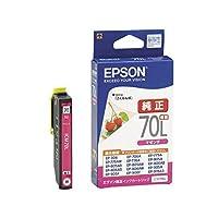 (まとめ) エプソン EPSON インクカートリッジ マゼンタ 増量タイプ ICM70L 1個 【×4セット】 AV デジモノ パソコン 周辺機器 インク インクカートリッジ トナー インク カートリッジ エプソン(EPSON)用 14067381 [並行輸入品]