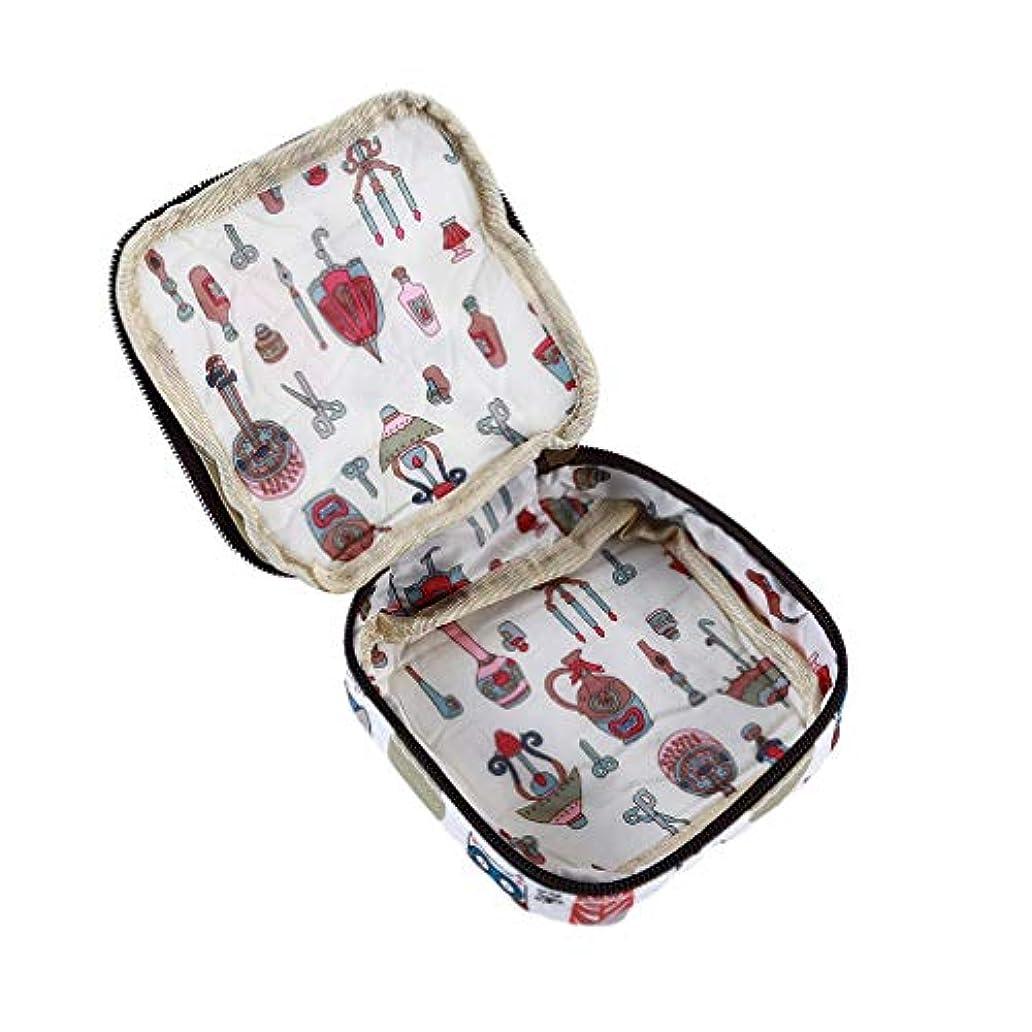逃す発明する後LUXWELL(ラクスウェル)収納袋 サニタリーナプキン収納バッグ 収納バッグ レディース ポーチ 大容量ジッパー 多機能 防水 小銭入れ 化粧品収納 携帯用 軽量 可愛い