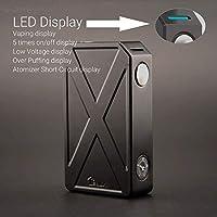 Authentic teslacigs Tesla Invader III 240W Variable Voltage VV Box Mod (Black)