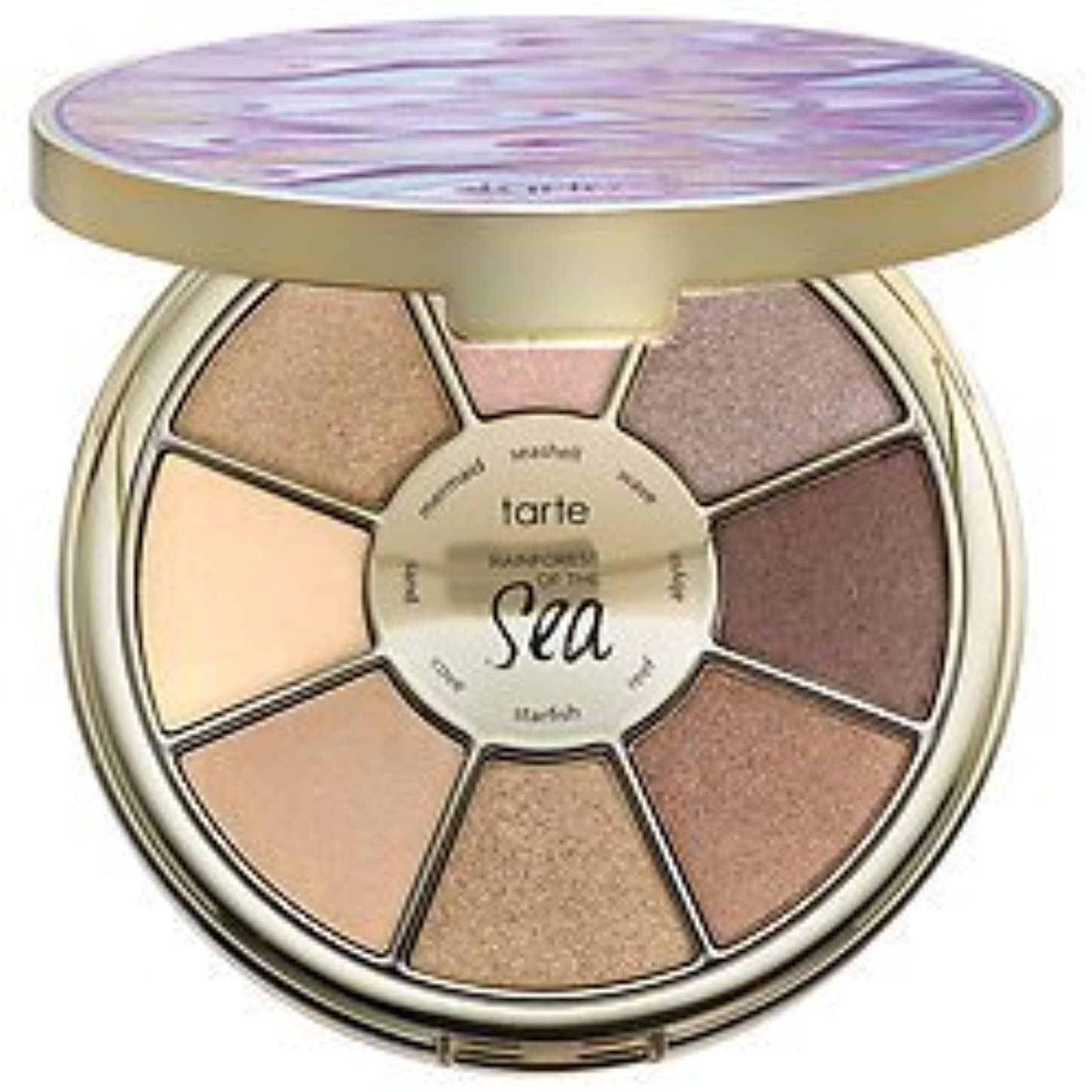 泣き叫ぶ固める裁量TARTE RAINFOREST OF THE SEA EYESHADOW PALETTE by Tarte Cosmetics [並行輸入品]