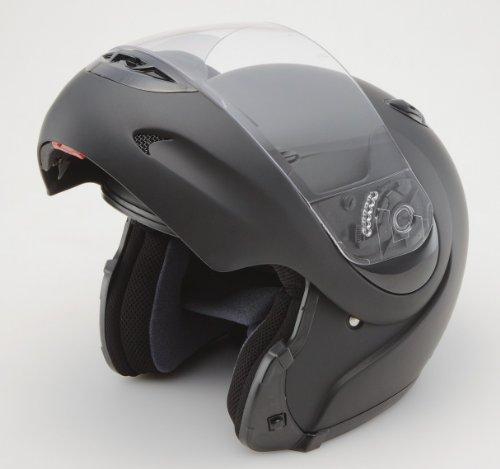 SG規格RYOGAシステムフルフェイスヘルメット●672●マットブラックLサイズ