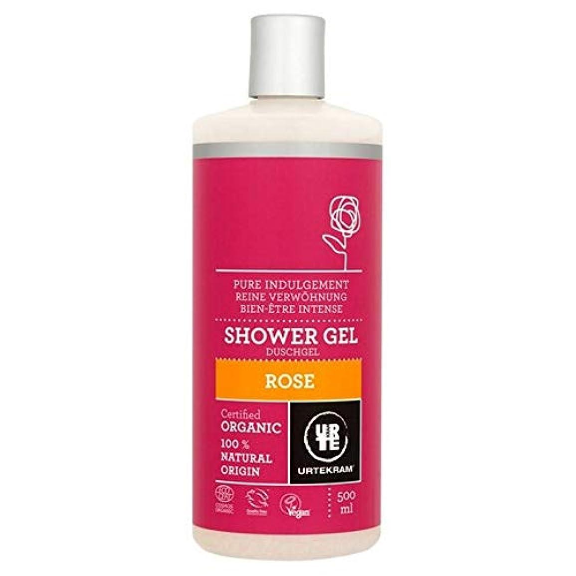 毎週コットン相対サイズ[Urtekram] Urtekramは、シャワージェル500ミリリットルをバラ - Urtekram Rose Shower Gel 500ml [並行輸入品]