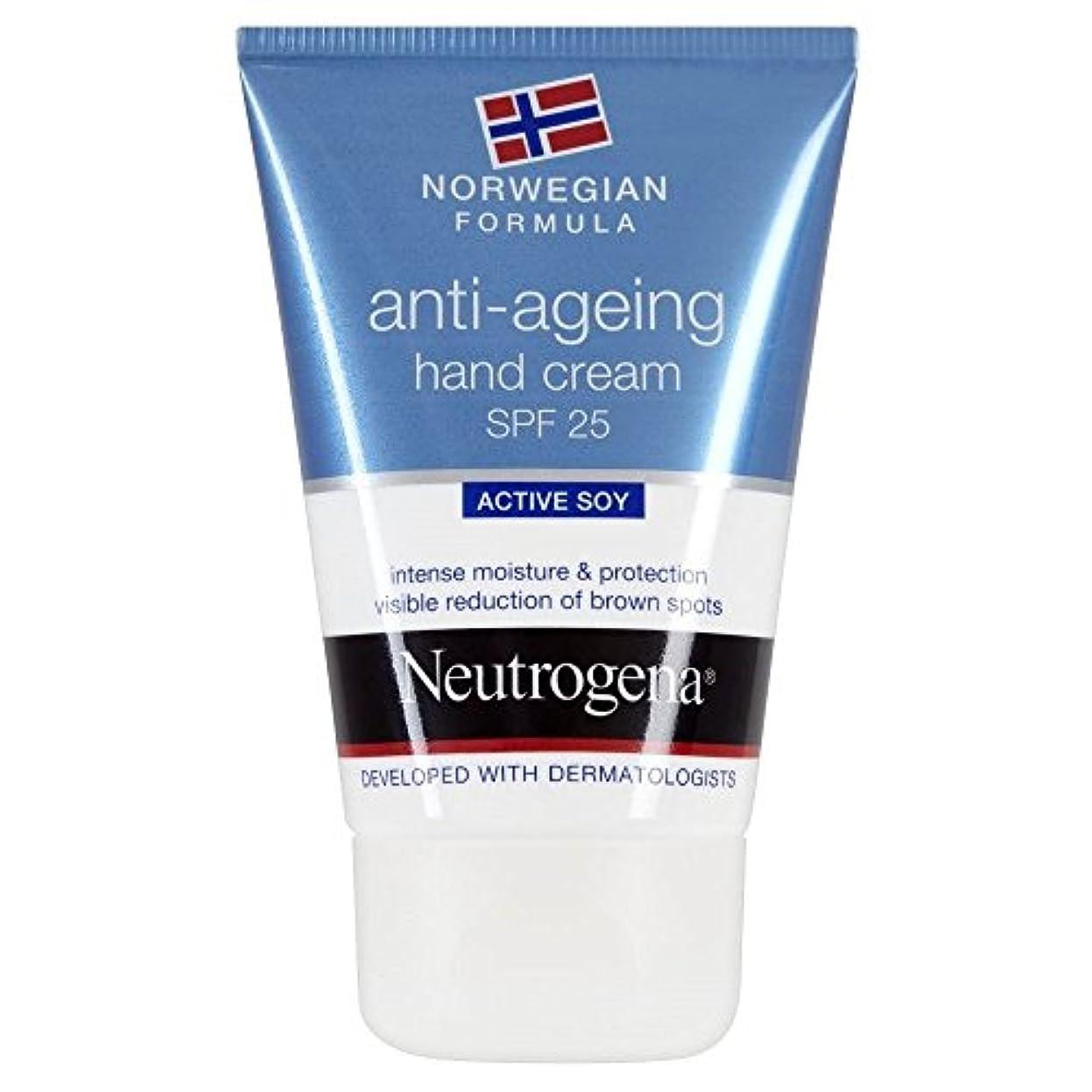 液体懐疑論恐怖症[Neutrogena] ニュートロジーナノルウェー式アンチエイジングハンドクリームSpf25(50Ml)中 - Neutrogena Norwegian Formula Anti Ageing Hand Cream Spf25...