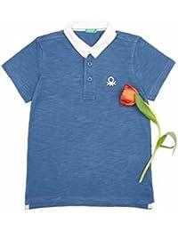 ベネトン キッズ(UNITED COLORS OF BENETTON) KIDSバックアップリケポロシャツ