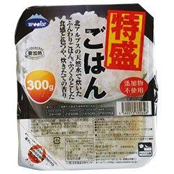 ウーケ 特盛ごはん 300g×24個入×(2ケース)