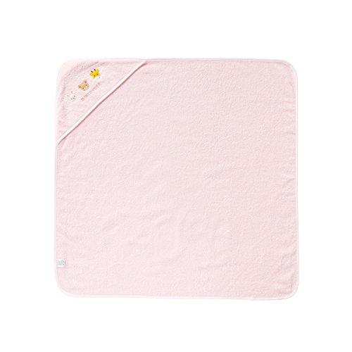 ミキハウス (MIKIHOUSE) ベビーバスタオル 46-8266-789 - ピンク
