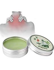 灸エッセンシャルクリーム、1ボトル健康スキンケア修理製品クリームかゆみ、さわやかな、目覚めさせる、蚊よけ