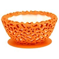 Boon Wrap Protective Bowl Cover, Tangerine (Discontinued by Manufacturer) by Boon [並行輸入品]