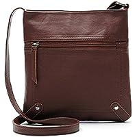 Lookatool Womens Leather Satchel Cross Body Shoulder Messenger Bag Handbag