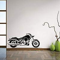 Ansyny オートバイの壁ビニールデカールバイクの壁のステッカーガレージの装飾壁の家のインテリア寝室の壁画取り外し可能なステッカー42 * 99センチ