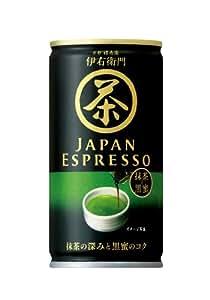 サントリー 伊右衛門 JAPAN ESPRESSO 缶185g1箱30本