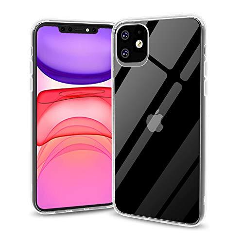 iPhone 11 ケース スマホケース アイフォン 11 カバー TPUバンパー 耐衝撃 ストラップホール付き クリア 6.1inch