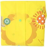 1Pc Waterproof Yellow Children Cartoon Raincoat Kids with Schoolbag Holder