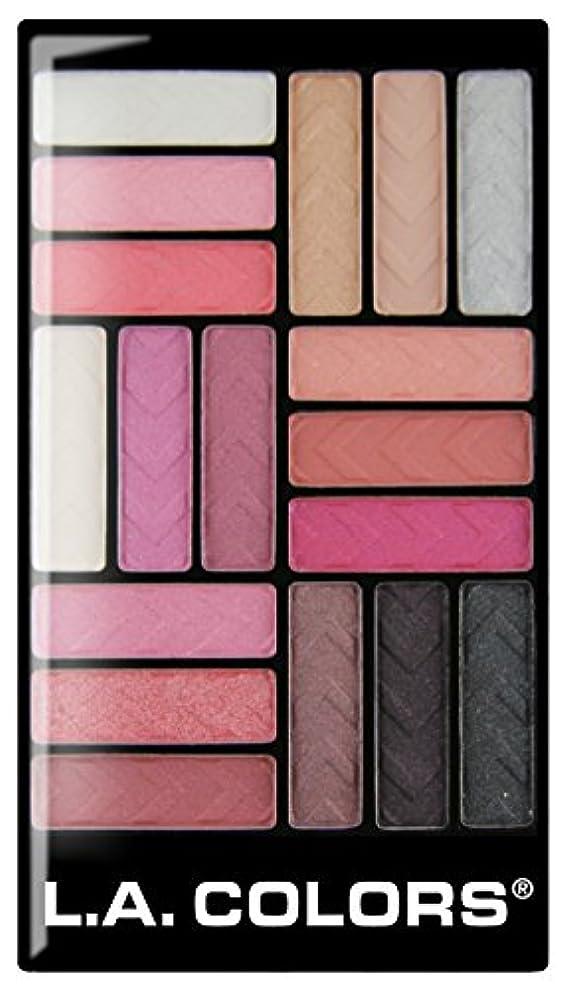 自我緑狂信者L.A. COLORS 18 Color Eyeshadow - Diva Glam (並行輸入品)