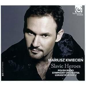スラヴ・オペラのヒーローたち (Slavic Heroes - Mariusz Kwiecien, Polish Radio Symphony Orchestra, Lukasz Borowicz) , From France]