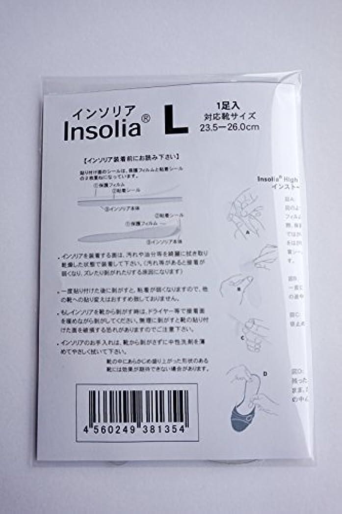 に慣れうがい薬みすぼらしいハイヒール用インソール 「インソリア」 1足組 (Lサイズ(23.5cm~26cm))