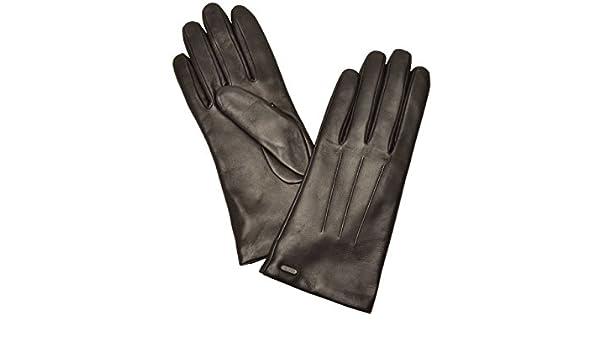 14e069f4361c Amazon.co.jp: (コーチ) COACH 手袋 グローブ ブラック レッド レザー f85156 アウトレット レディース ブランド  並行輸入品 (7, ブラック): シューズ&バッグ