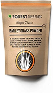 Forest Super Foods Certified Organic Australian Grown Young Barley Grass 500g Premium Quality Gluten Free (2 m
