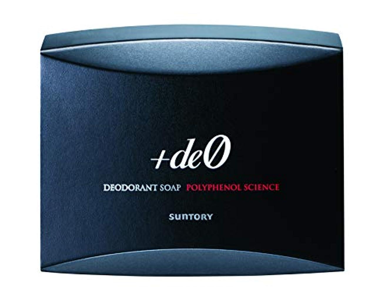 まあ祈りドローサントリー プラスデオ デオドラントソープ 加齢臭?体臭対策用石鹸