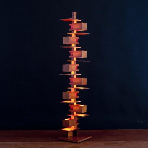 DAIVA フランク・ロイド・ライト タリアセン2フロアーライト (ミドルタイプ) 照明 ランプ フランクロイドライト TALIESIN2 デザイナーズ家具