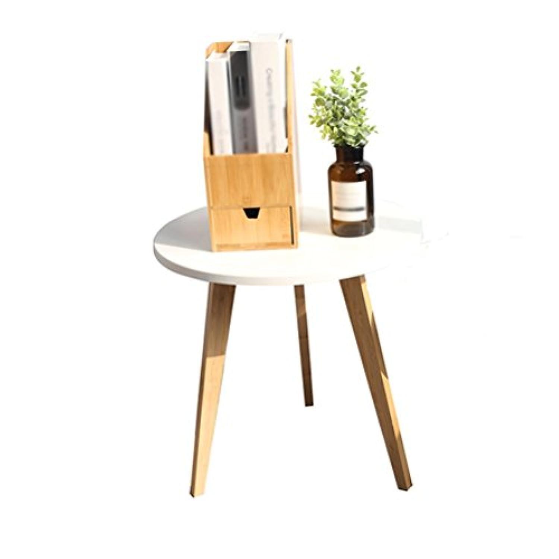 LQQGXLストレージと組織 北欧の小さなお店のコーヒーテーブル創造的なミニマリストのコーヒーテーブルリビングルームのソファのサイドテーブルの組み合わせの活動のベッドのテーブル (サイズ さいず : 40x40.6cm)