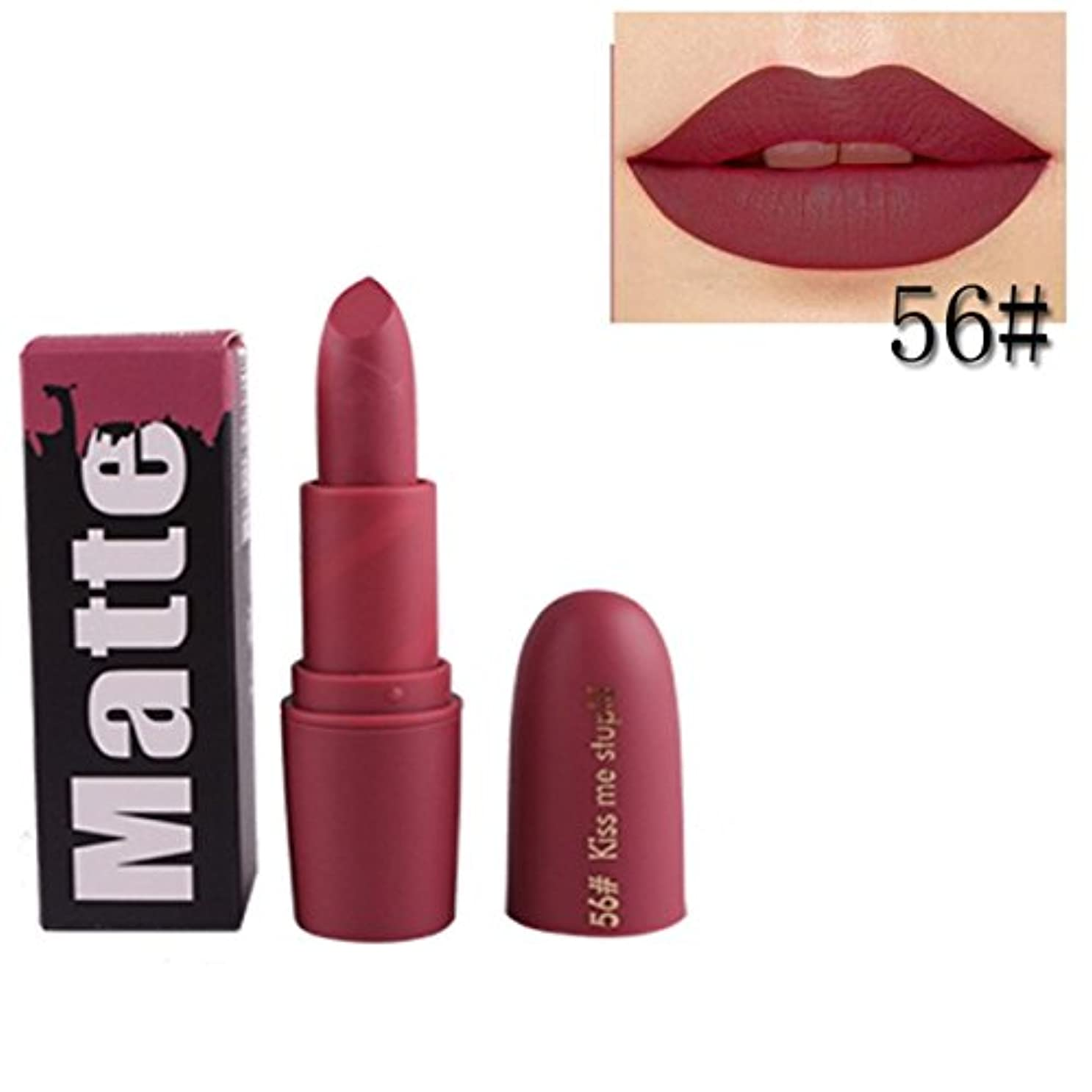 コールドおなじみのええ女性口紅 BOBOGOJP 欧米風 ミストマット リップグロス 18色選択 保湿 持続性 魅力的 リップリップスティック モイスチャライジング リップスティックメイク 恋する唇 おすすめリップスティック (R)