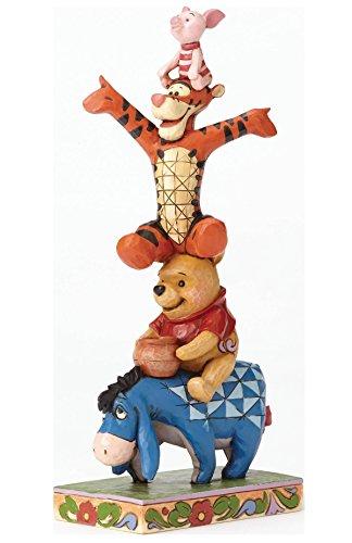 ディズニー・トラディションズ/ くまのプーさん: イーヨー&プー&ティガー&ピグレット スタチュー