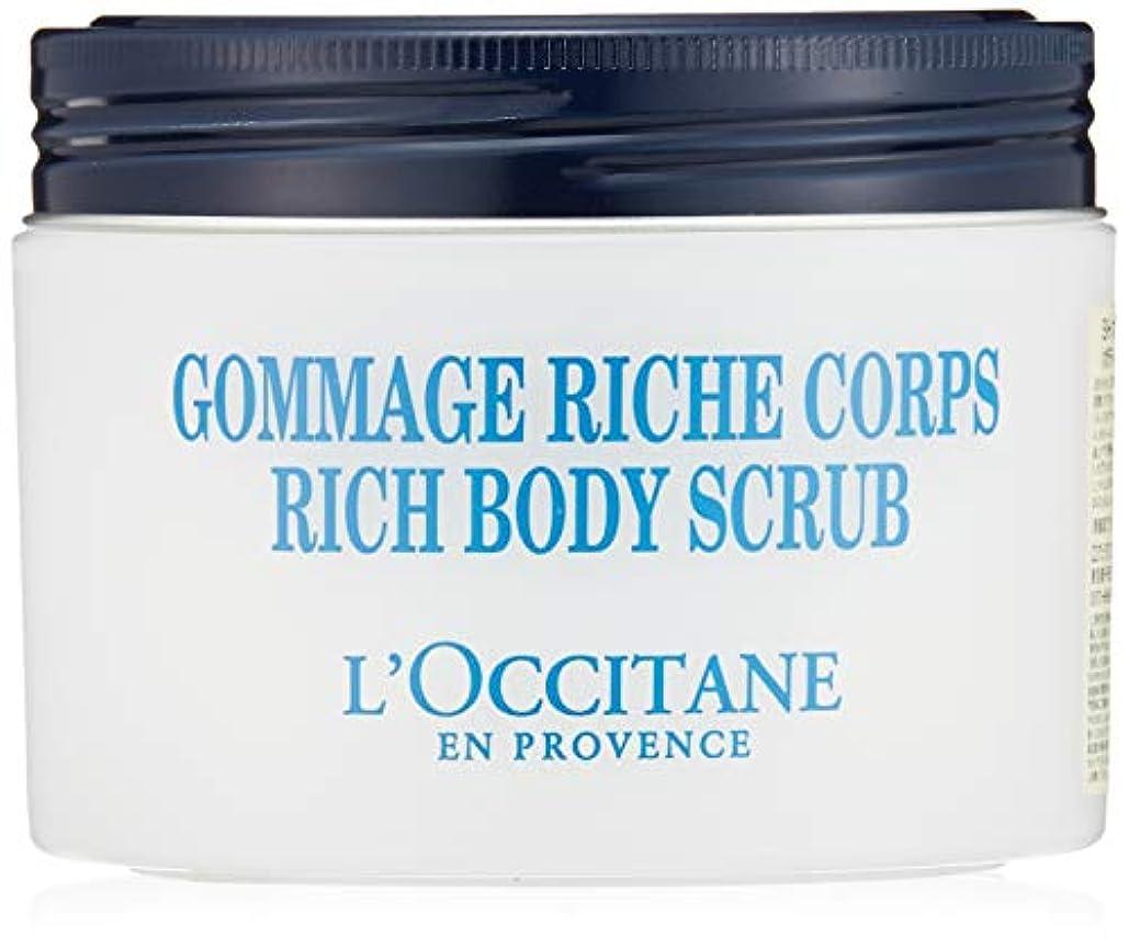 医療の船乗り分解するロクシタン(L'OCCITANE) シア リッチボディスクラブ 200ml