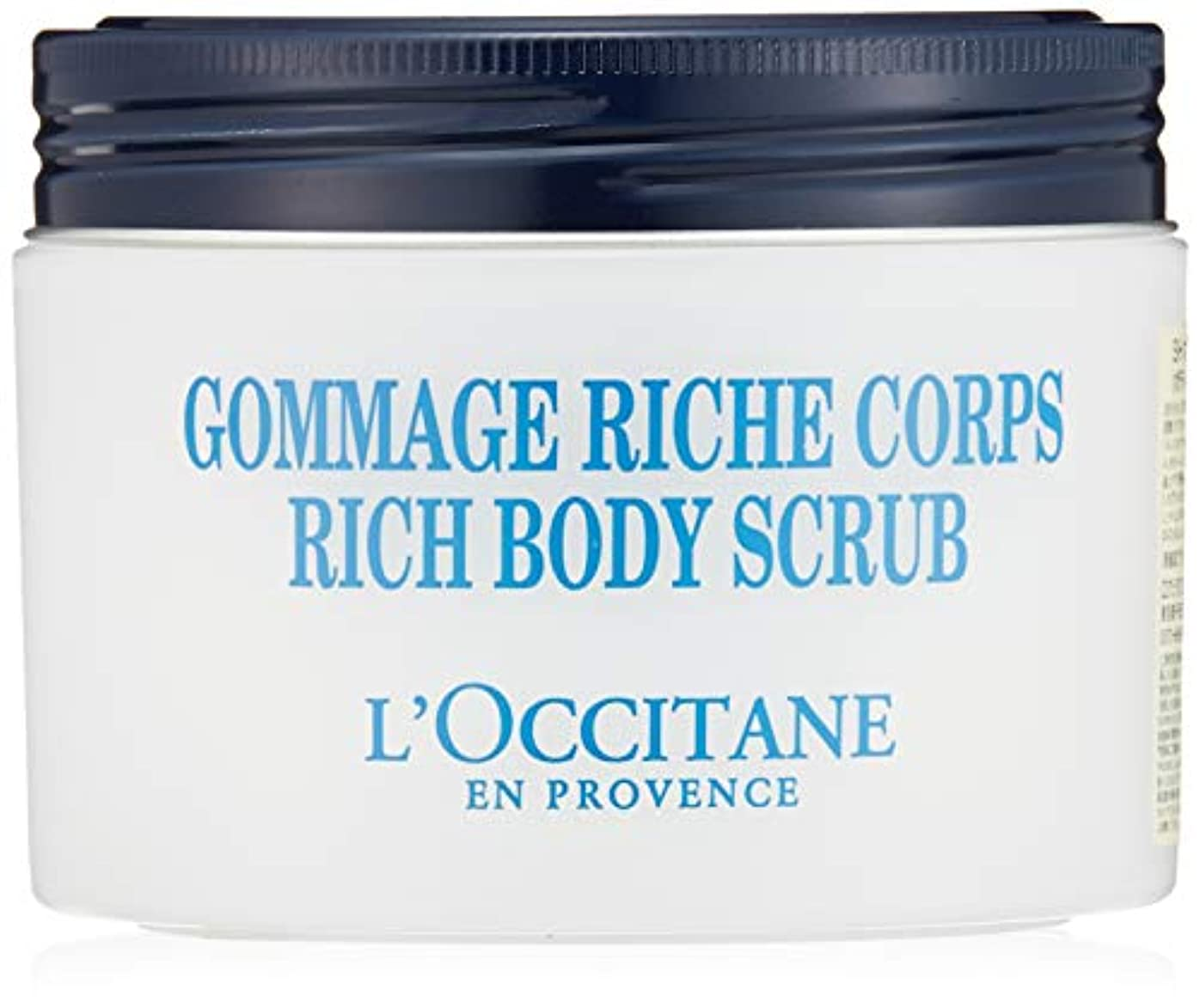 バナー不機嫌そうな鎮痛剤ロクシタン(L'OCCITANE) シア リッチボディスクラブ 200ml