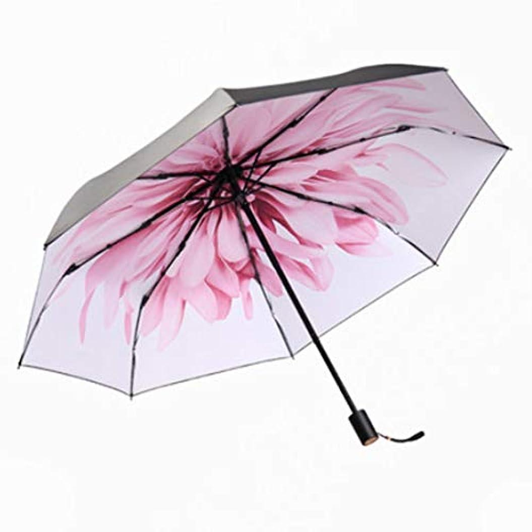 マインド経験者スカープHOHYLLYA 女性の黒の紫外線保護日焼け止め傘夏小さな折りたたみ日傘用女性防風傘 sunshade (色 : ホワイト)
