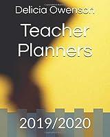 Teacher Planners: 2019/2020