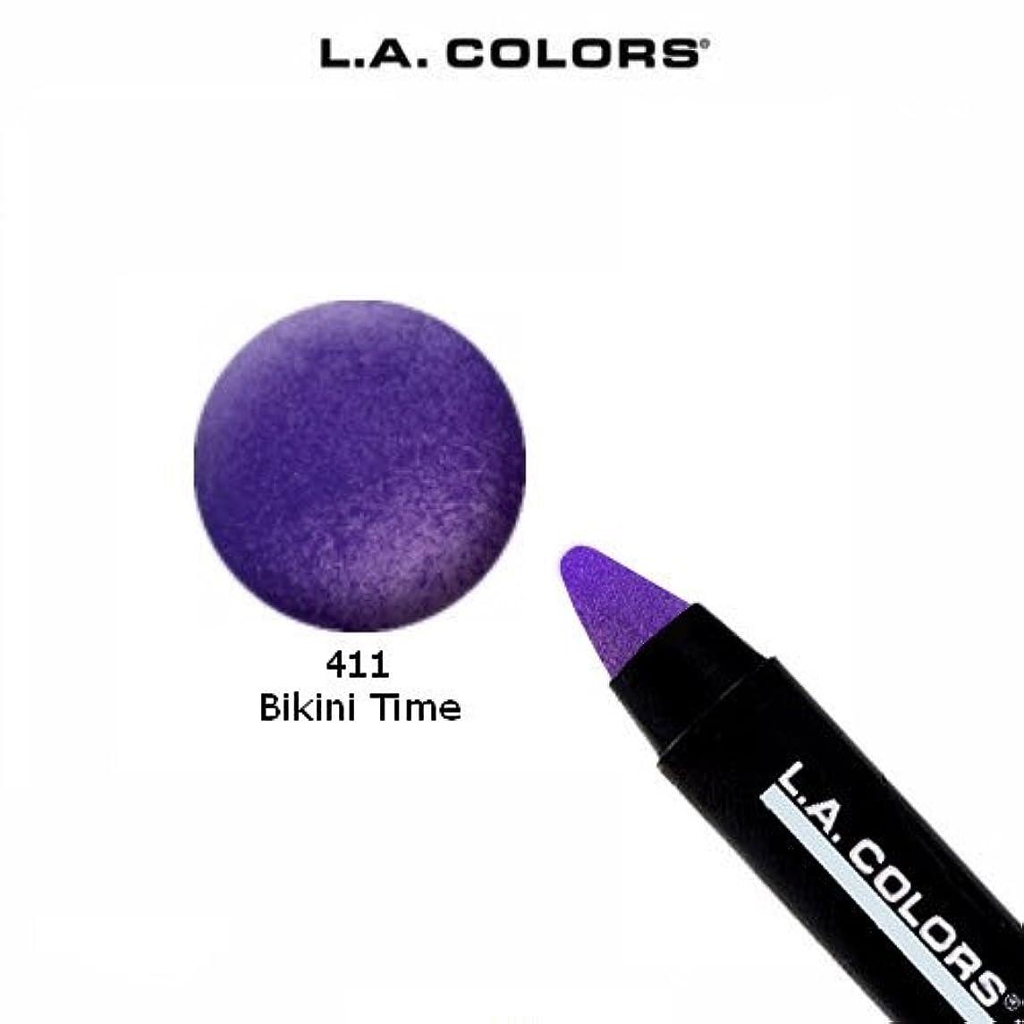 プロペラ硬化する抜本的なLA COLORS Jumbo Pencil Bikini Time (並行輸入品)