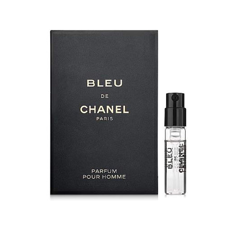 雪から聞く静かなシャネル ブルー ドゥ シャネル パルファム 1.5ml(ミニチュア)-CHANEL-