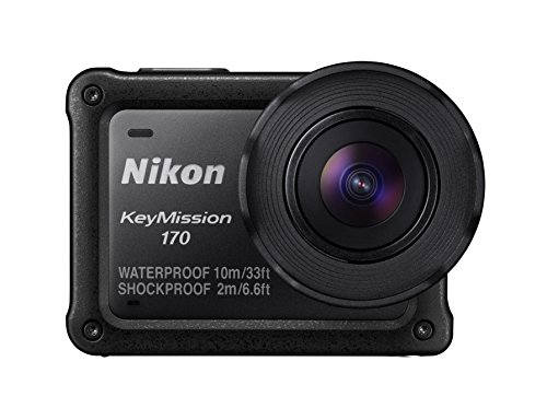 Nikon 防水アクションカメラ KeyMission 170 BK ブラック