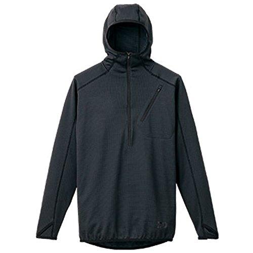 ダイワ BUG BLOCKER 防蚊フーディーハーフZIPシャツ DE-5306 ブラック M