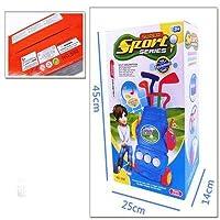 Gederq - ボックスパッケージベスト誕生日ギフト屋内屋外の教育ゲームではゴルフクラブGolfballsポータブルトロリー子供のおもちゃミニゴルフセット [ランダムな色2]